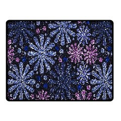 Pixel Pattern Colorful And Glittering Pixelated Fleece Blanket (small) by Nexatart