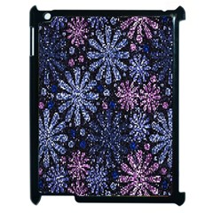Pixel Pattern Colorful And Glittering Pixelated Apple Ipad 2 Case (black) by Nexatart