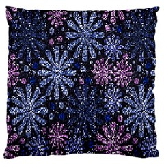 Pixel Pattern Colorful And Glittering Pixelated Large Cushion Case (one Side)