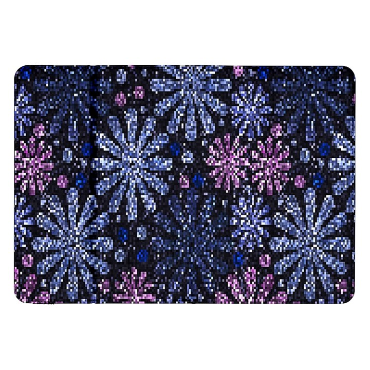Pixel Pattern Colorful And Glittering Pixelated Samsung Galaxy Tab 8.9  P7300 Flip Case