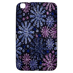 Pixel Pattern Colorful And Glittering Pixelated Samsung Galaxy Tab 3 (8 ) T3100 Hardshell Case  by Nexatart