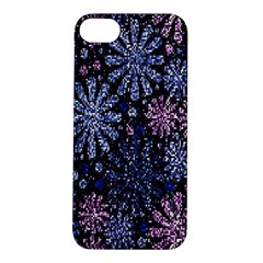 Pixel Pattern Colorful And Glittering Pixelated Apple Iphone 5s/ Se Hardshell Case by Nexatart