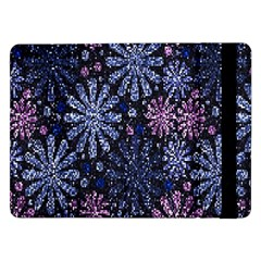Pixel Pattern Colorful And Glittering Pixelated Samsung Galaxy Tab Pro 12 2  Flip Case