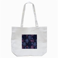 Pixel Pattern Colorful And Glittering Pixelated Tote Bag (white) by Nexatart
