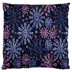 Pixel Pattern Colorful And Glittering Pixelated Large Flano Cushion Case (two Sides) by Nexatart