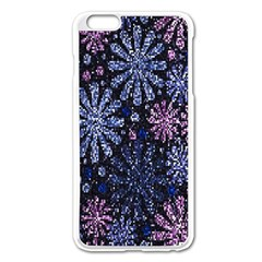 Pixel Pattern Colorful And Glittering Pixelated Apple Iphone 6 Plus/6s Plus Enamel White Case by Nexatart