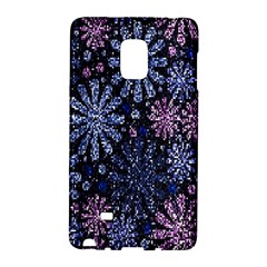 Pixel Pattern Colorful And Glittering Pixelated Galaxy Note Edge
