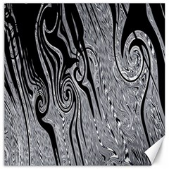 Abstract Swirling Pattern Background Wallpaper Canvas 20  X 20