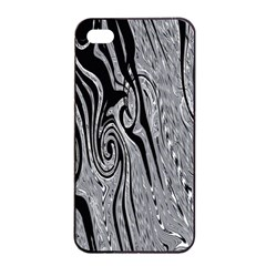 Abstract Swirling Pattern Background Wallpaper Apple Iphone 4/4s Seamless Case (black) by Nexatart