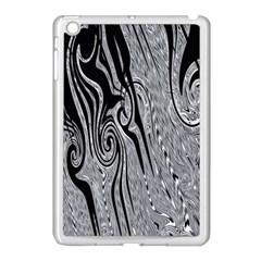Abstract Swirling Pattern Background Wallpaper Apple Ipad Mini Case (white) by Nexatart