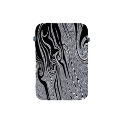Abstract Swirling Pattern Background Wallpaper Apple Ipad Mini Protective Soft Cases by Nexatart