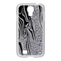 Abstract Swirling Pattern Background Wallpaper Samsung Galaxy S4 I9500/ I9505 Case (white) by Nexatart