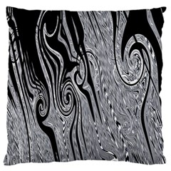 Abstract Swirling Pattern Background Wallpaper Standard Flano Cushion Case (two Sides)