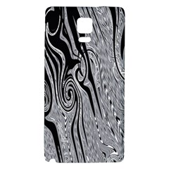 Abstract Swirling Pattern Background Wallpaper Galaxy Note 4 Back Case
