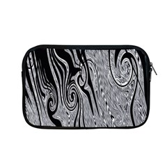 Abstract Swirling Pattern Background Wallpaper Apple Macbook Pro 13  Zipper Case by Nexatart