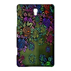 Grunge Rose Background Pattern Samsung Galaxy Tab S (8 4 ) Hardshell Case