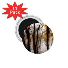 Fall Forest Artistic Background 1 75  Magnets (10 Pack)  by Nexatart
