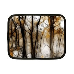 Fall Forest Artistic Background Netbook Case (small)  by Nexatart
