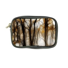 Fall Forest Artistic Background Coin Purse by Nexatart
