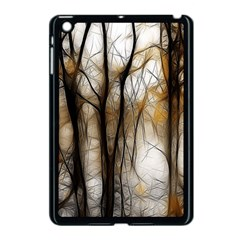 Fall Forest Artistic Background Apple Ipad Mini Case (black)