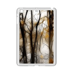 Fall Forest Artistic Background Ipad Mini 2 Enamel Coated Cases by Nexatart