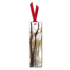 Fall Forest Artistic Background Small Book Marks by Nexatart