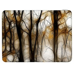 Fall Forest Artistic Background Samsung Galaxy Tab 7  P1000 Flip Case by Nexatart