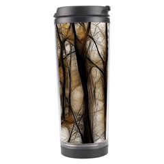 Fall Forest Artistic Background Travel Tumbler by Nexatart
