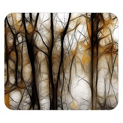 Fall Forest Artistic Background Double Sided Flano Blanket (small)  by Nexatart