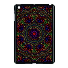 Rainbow Kaleidoscope Apple Ipad Mini Case (black)