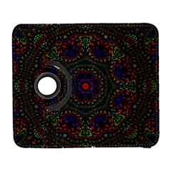 Rainbow Kaleidoscope Galaxy S3 (flip/folio) by Nexatart