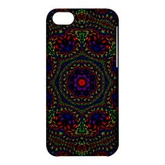 Rainbow Kaleidoscope Apple Iphone 5c Hardshell Case