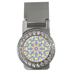 Rainbow Kaleidoscope Money Clips (cz)  by Nexatart