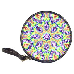 Rainbow Kaleidoscope Classic 20 Cd Wallets by Nexatart
