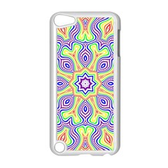 Rainbow Kaleidoscope Apple Ipod Touch 5 Case (white) by Nexatart