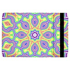 Rainbow Kaleidoscope Ipad Air Flip by Nexatart