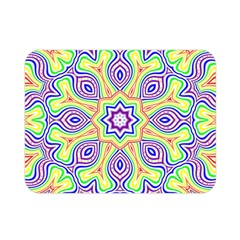 Rainbow Kaleidoscope Double Sided Flano Blanket (mini)  by Nexatart