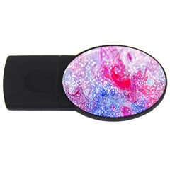 Glitter Pattern Background Usb Flash Drive Oval (4 Gb) by Nexatart