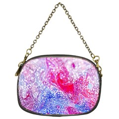 Glitter Pattern Background Chain Purses (one Side)
