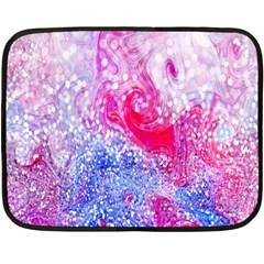 Glitter Pattern Background Double Sided Fleece Blanket (mini)  by Nexatart