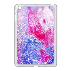 Glitter Pattern Background Apple Ipad Mini Case (white)