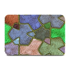 Background With Color Kindergarten Tiles Plate Mats by Nexatart