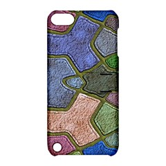 Background With Color Kindergarten Tiles Apple Ipod Touch 5 Hardshell Case With Stand by Nexatart