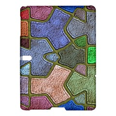 Background With Color Kindergarten Tiles Samsung Galaxy Tab S (10 5 ) Hardshell Case  by Nexatart