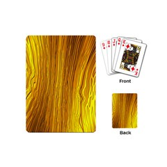 Light Doodle Pattern Background Wallpaper Playing Cards (mini)