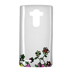 Floral Border Cartoon Flower Doodle Lg G4 Hardshell Case by Nexatart