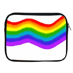 Watercolour Rainbow Colours Apple Ipad 2/3/4 Zipper Cases