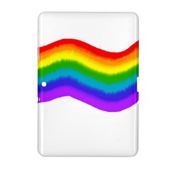 Watercolour Rainbow Colours Samsung Galaxy Tab 2 (10 1 ) P5100 Hardshell Case