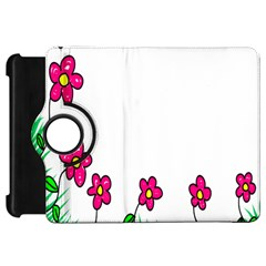Floral Doodle Flower Border Cartoon Kindle Fire Hd 7  by Nexatart