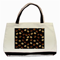 Donuts Pattern Basic Tote Bag by Valentinaart